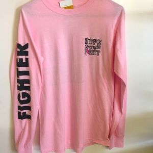 Breast cancer   Pink T shirt